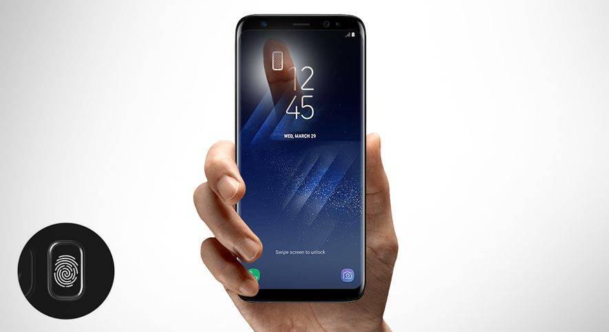 Samsung Skaner linii papilarnych
