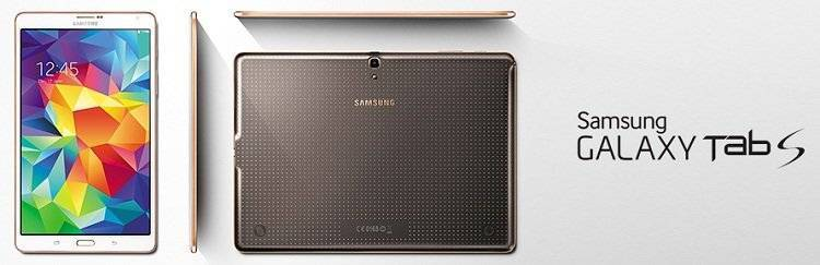 Tablet Galaxy Tab S