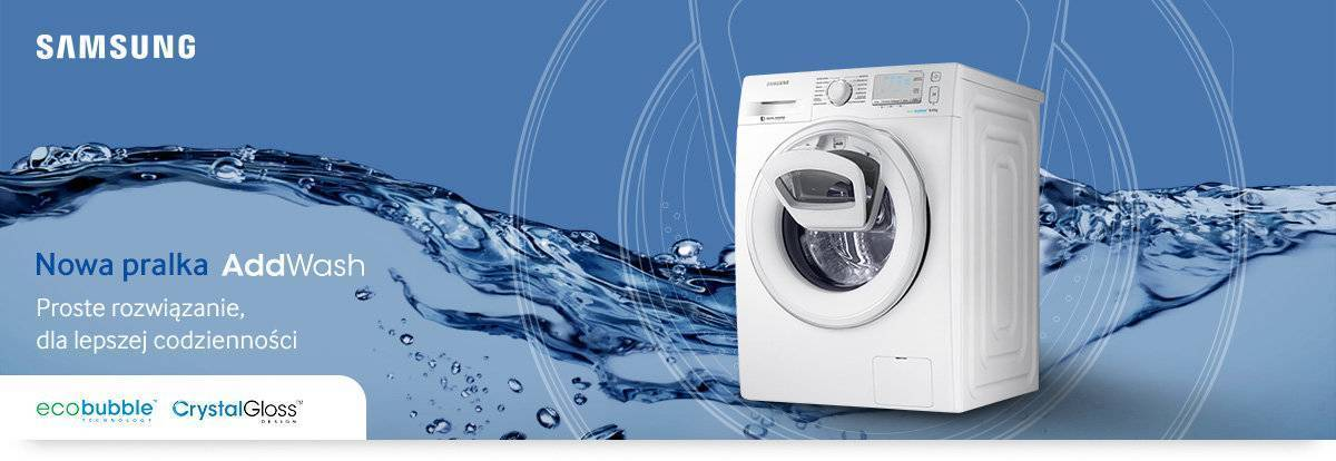 Pralka Samsung WW80K6415SW  Eco Bubble