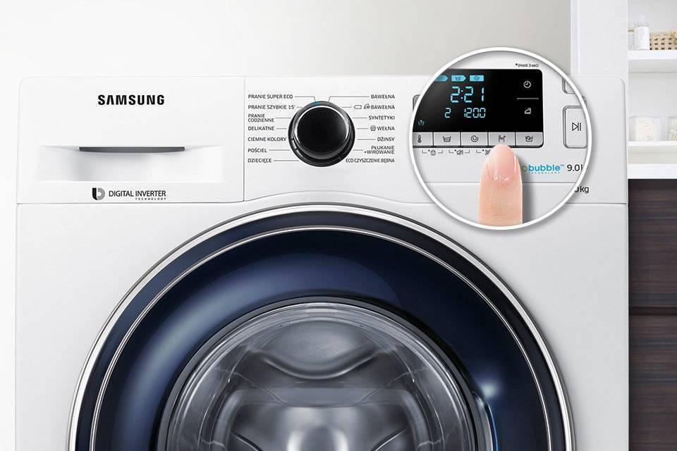 Samsung Wygodne rozwiązanie. Ustaw czas zakończenia prania