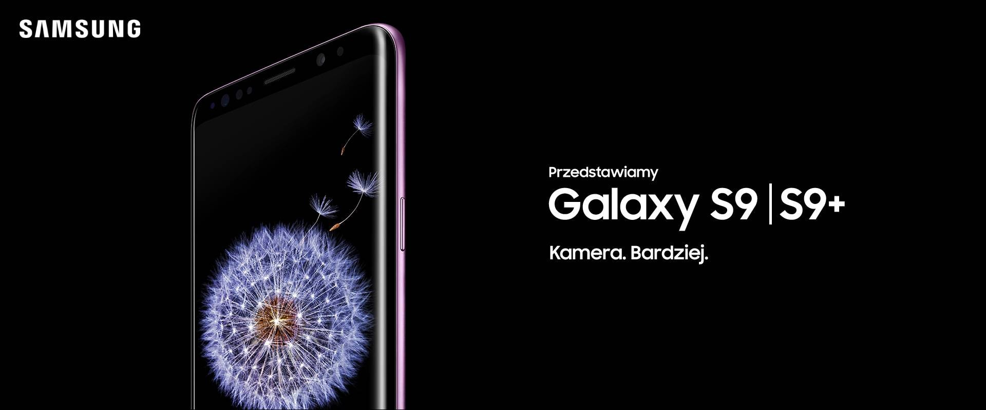 Smartfon Samsung Galaxy S9 Midnight Black Smartwatch Gear S3 Frontier