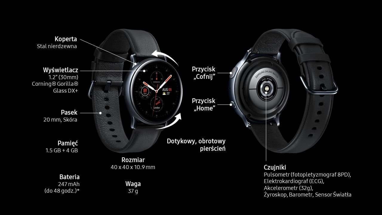 galaxy-watch-active2 stal-40mm-lte