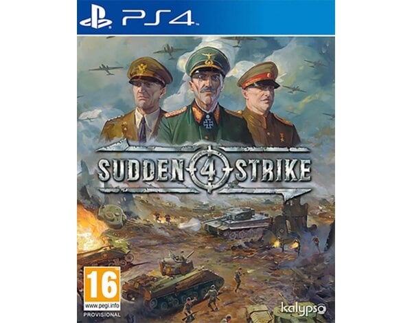 Gra PS4 Sudden Strike 4
