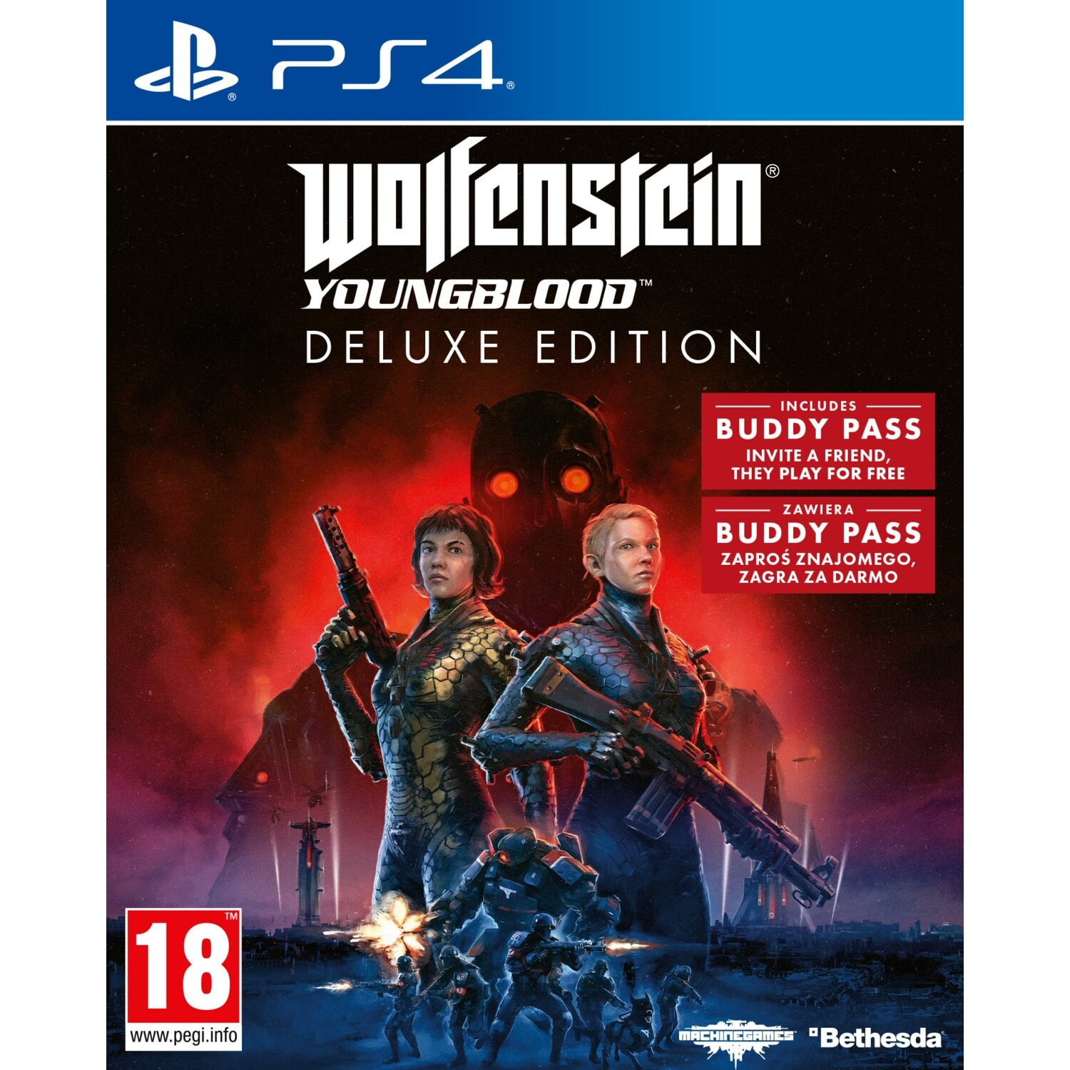 Gra PS4 Wolfenstein Youngblood Deluxe Edition
