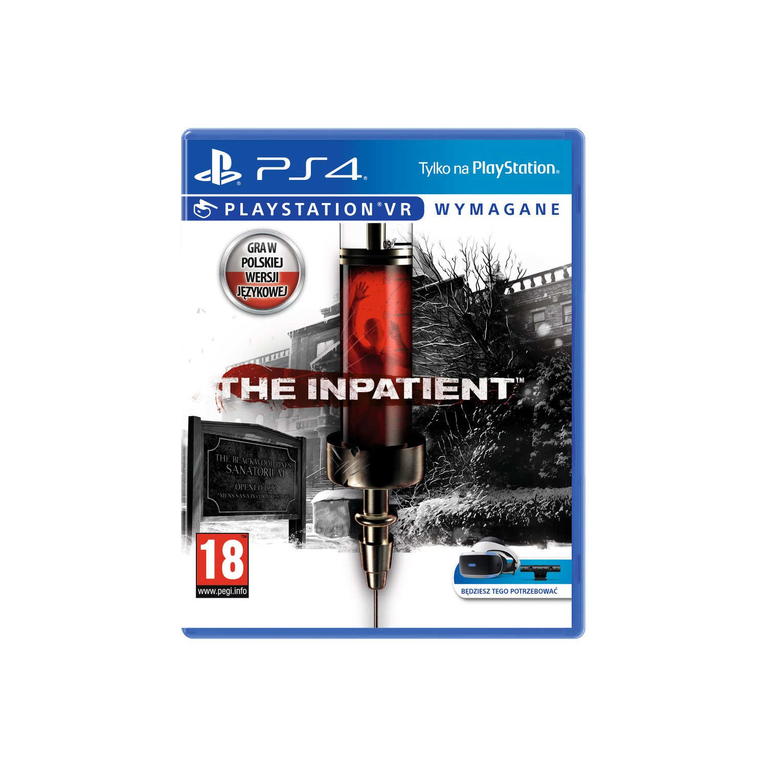 Gra PS4 VR The Inpatient