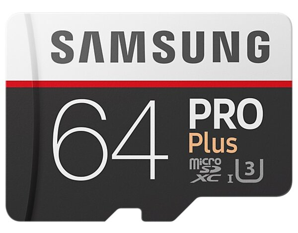 Karta pamięci SAMSUNG PRO Plus 64GB MB-MD64GA/EU + adapter SD