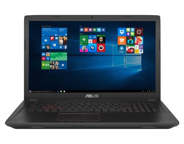 Laptop ASUS FX753VD-GC079T i5-7300HQ/8GB/1TB/GTX1050/Win10H