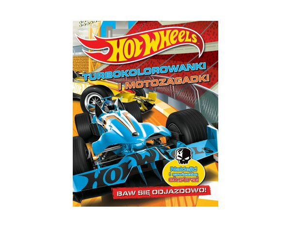 Hot Wheels Turbokolorowanki i motozagadki