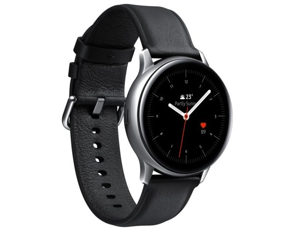 SmartWatch SAMSUNG Galaxy Watch Active2 Stal Nierdzewna 40mm Srebrny SM-R830NSSAXEO