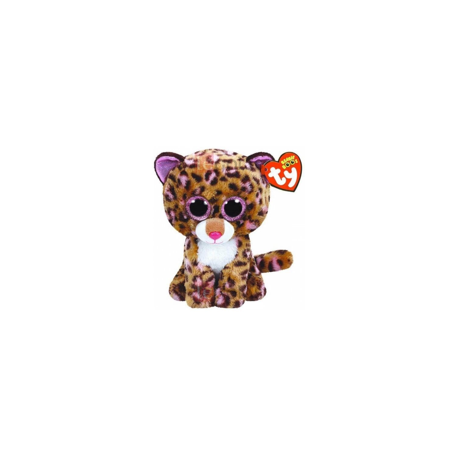 Maskotka TY INC Beanie Boos Patches - Leopard Tan 24 cm 37068