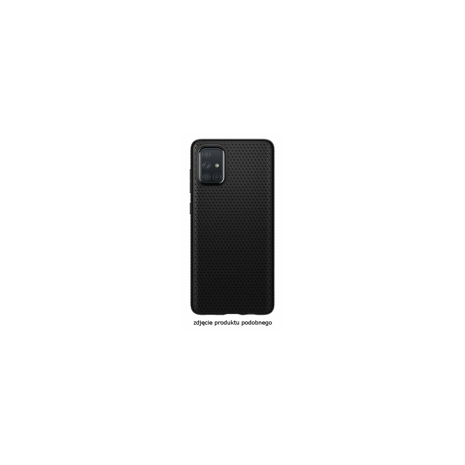 Etui na smartfon SPIGEN Liquid Air do Samsung Galaxy S20 Ultra Czarny matowy 39166