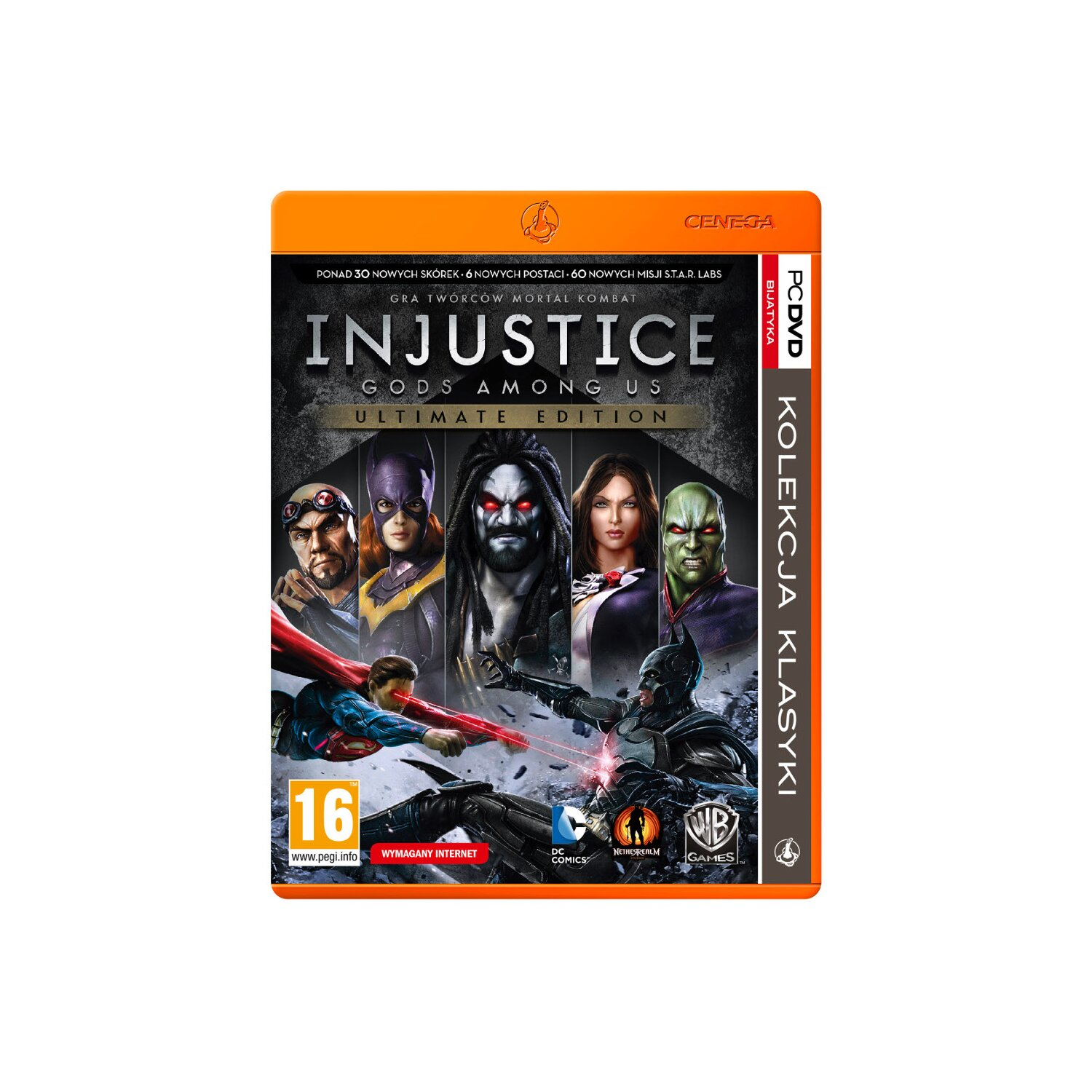 Gra PC PKK Injustice Gods Among Us Ultimate Edition