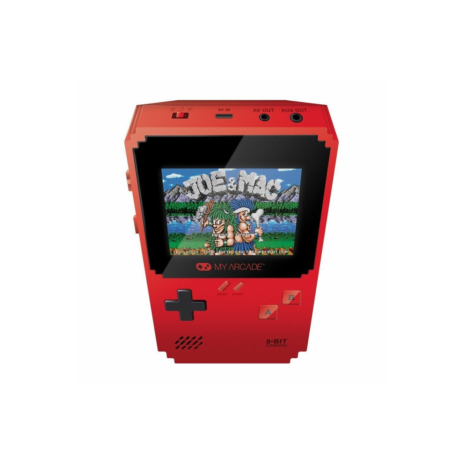 Konsola MY ARCADE Pixel Classic Red Portable Handheld 300 gier
