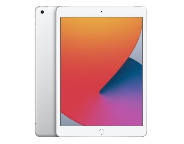 Tablet APPLE iPad 10.2 (2020) 32GB Wi-Fi+Cellular Srebrny MYMJ2FD/A