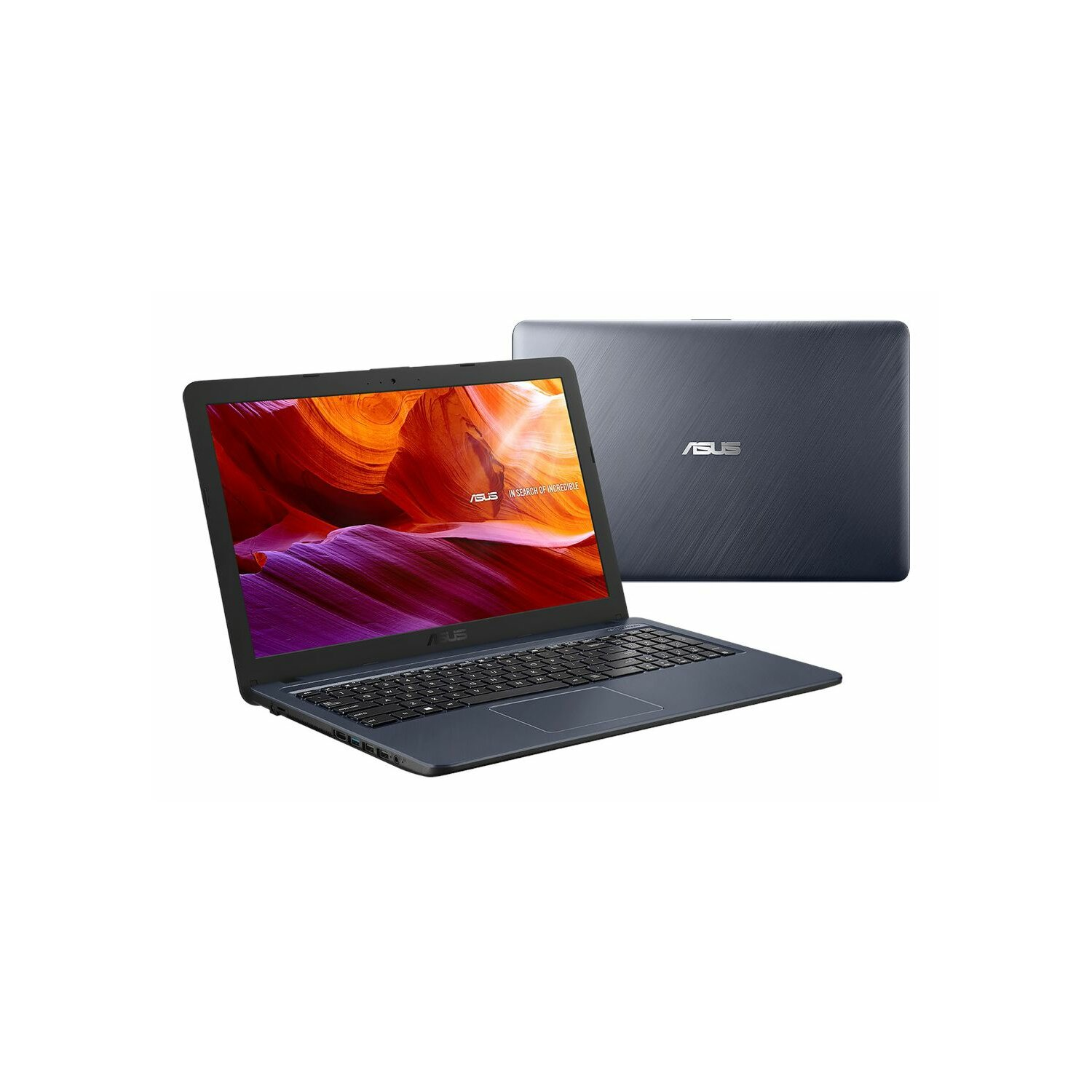 Laptop ASUS F543MA-DM695T N4000/4GB/256GB SSD/INT/Win10H Szary