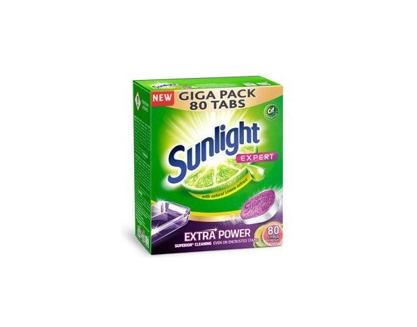 Tabletki do zmywarki SUNLIGHT Expert 80 Citrus Fresh