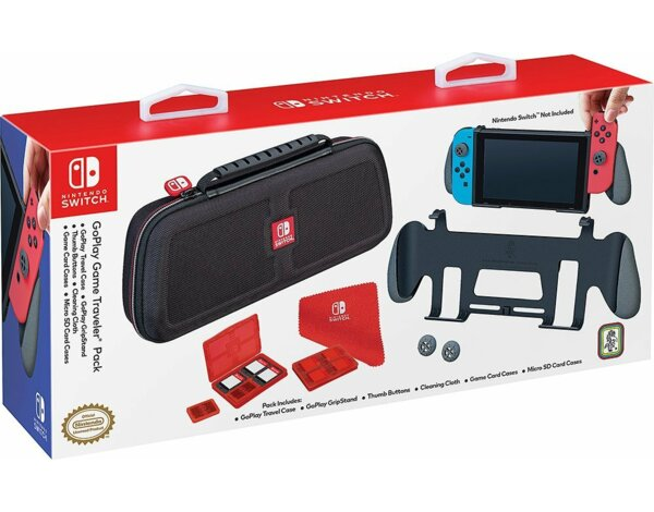 Zestaw akcesoriów BIGBEN Switch Grip GoPlay do Nintendo Switch