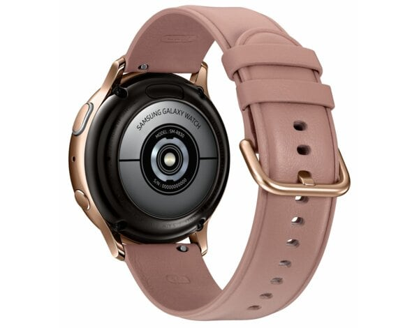SmartWatch SAMSUNG Galaxy Watch Active2 Stal Nierdzewna 40mm Złoty SM-R830NSDAXEO