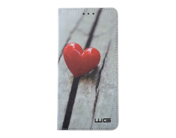 Etui WG Flipbook Heart do Huawei P20