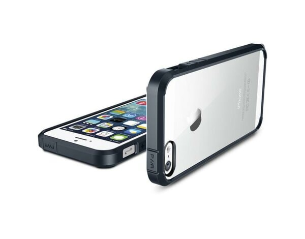 Etui SPIGEN Ultra Hybrid do iPhone 5/5S/SE Grafitowy