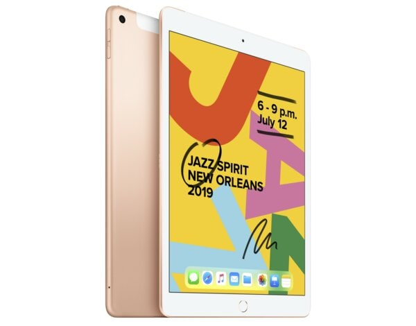 Tablet APPLE iPad 10.2 (2019) 32GB Wi-Fi+Cellular Złoty MW6D2FD/A