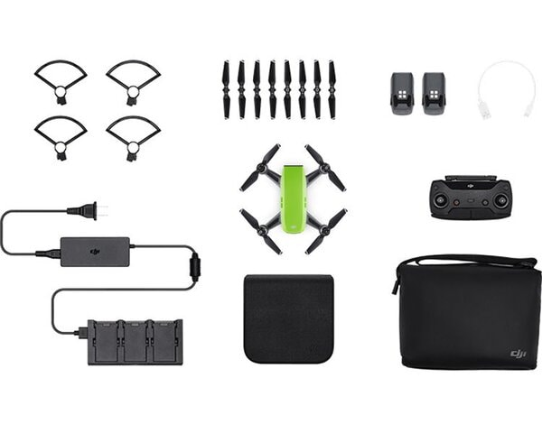 Dron DJI Spark Fly More Combo Meadow Zielony