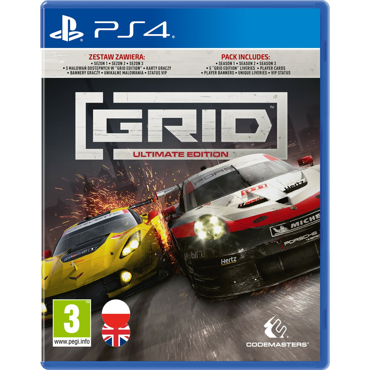 Gra PS4 GRID Ultimate Edition