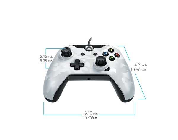 Kontroler PDP Ghost White do Xbox One/PC