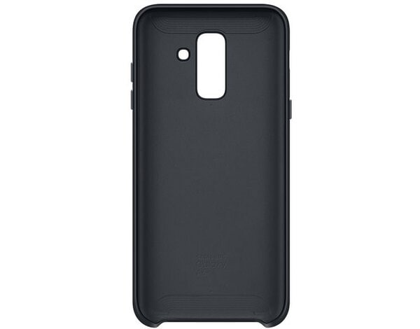 Etui SAMSUNG Dual Layer Cover do Galaxy A6+ Czarny EF-PA605CBEGWW