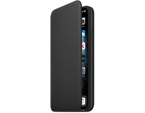 Etui APPLE Leather Folio do iPhone 11 Pro Czarny MX062ZM/A