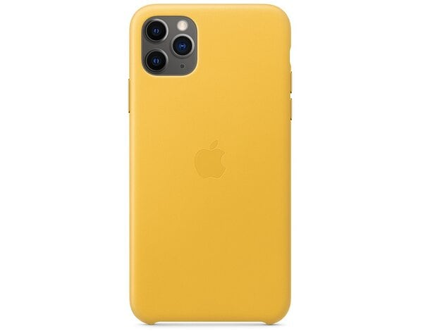 Etui APPLE Leather Case do iPhone 11 Pro Soczysta cytryna MWYA2ZM/A