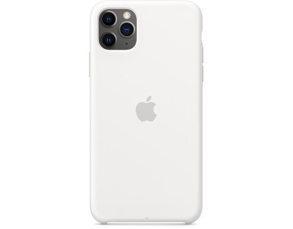 Silikonowe etui APPLE Silicone Case do iPhone 11 Pro Max Biały MWYX2ZM/A
