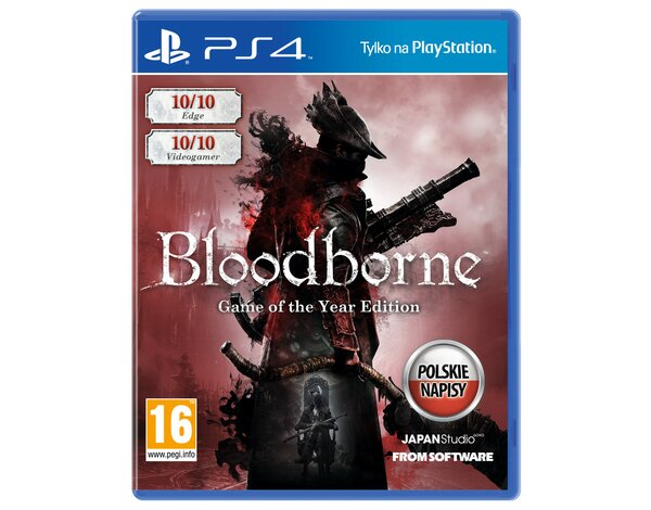 Gra PS4 Bloodborne Game of the Year Edition