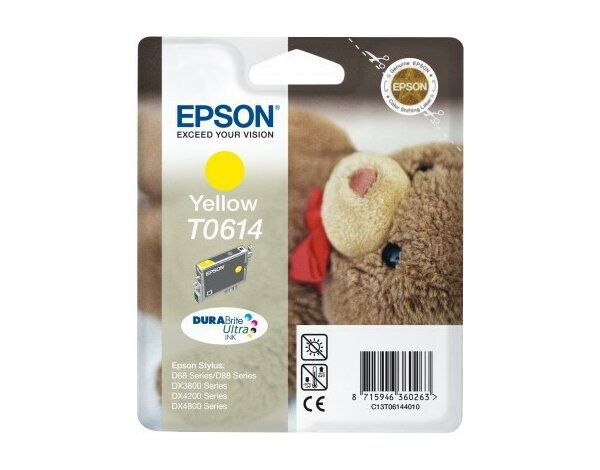 Tusz EPSON T0614 (D68) Yellow