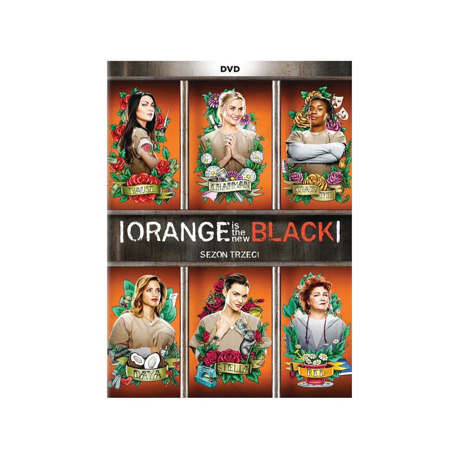 Orange Is The New Black. Sezon 3 (5DVD)