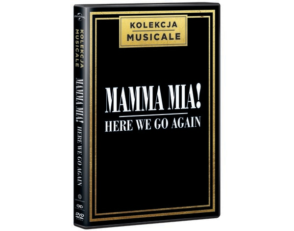Mamma Mia! Here We Go Again (DVD) Kolekcja Musicale