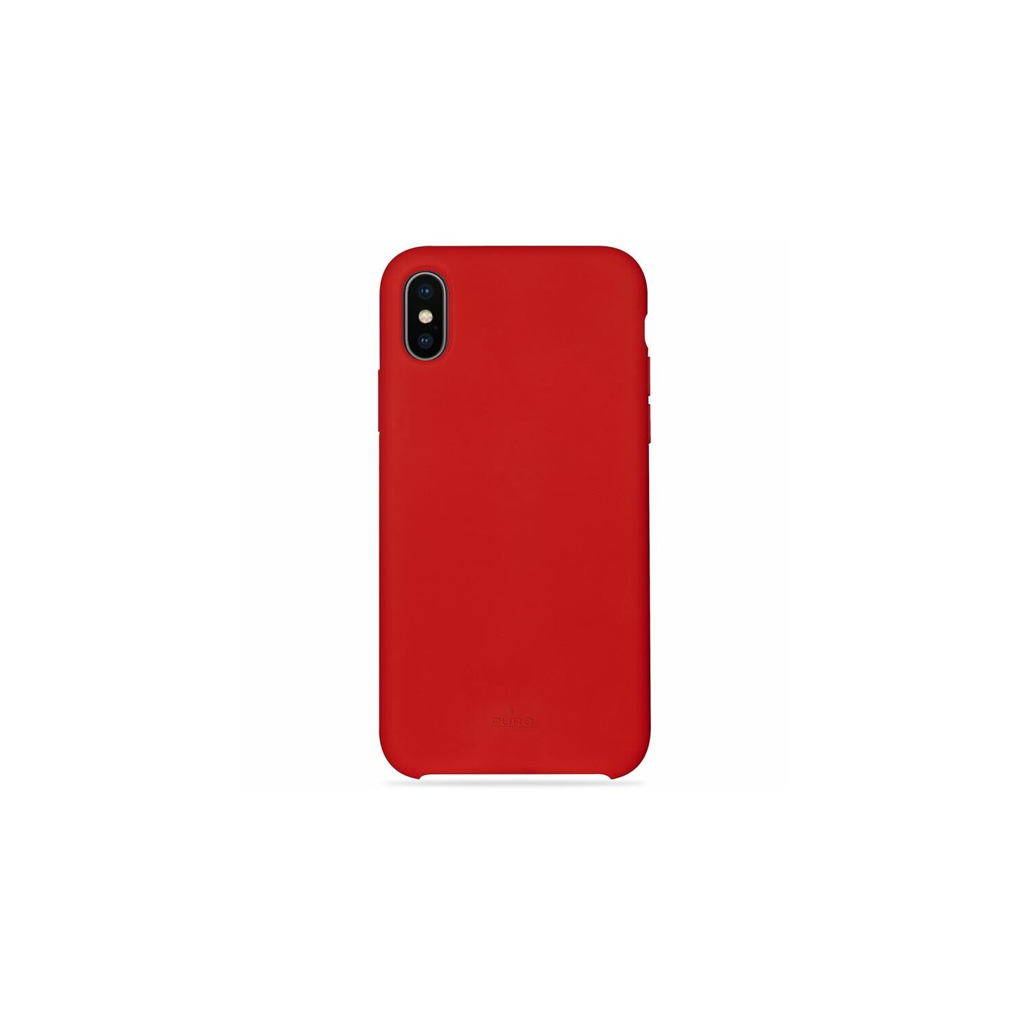 Etui PURO Icon Cover Apple iPhone X/XS czerwony LE