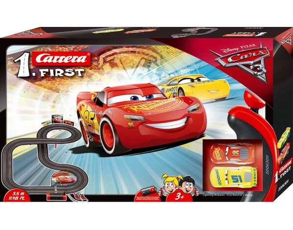 Tor wyścigowy CARRERA Carrera First 1. - Disney Cars 3 63011