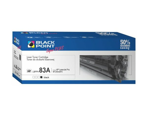 Toner BLACK POINT LBPPH83A