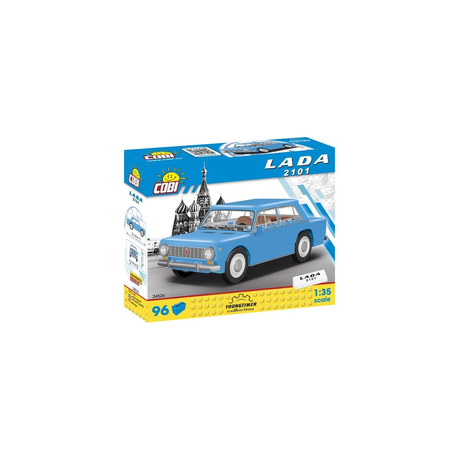 Klocki COBI Youngtimer Collection - Łada 2101 24526