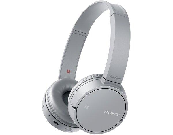 Słuchawki Bluetooth SONY MDR ZX220BT Szary, Słuchawki