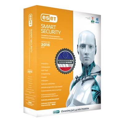 Program ESET Smart Security 2016 (1 komputer, 1 rok)